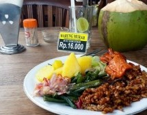 Bon plan à Bali : le resto Warung Murah à 1 euro!