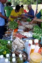 World Veg Fest, la Mecque des végétariens! Le buffet