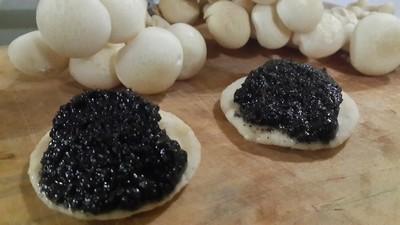 10 recettes rapides pour un apéritif convivial. Caviar végétal