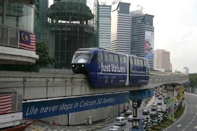 Quoi faire à Kuala Lumpur en moins d'une semaine? Monorail
