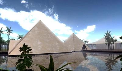 Peter et sa révélation des pyramides. Le projet.