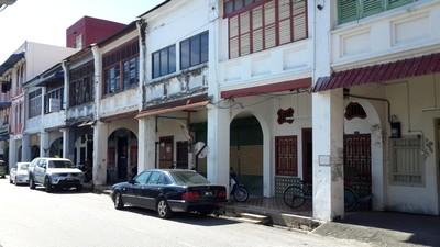 Partir en Orient pour le festival végétarien de Penang. Vieille ville de Georgetown.