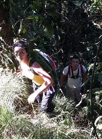 Découvrir Bali autrement : escalade du volcan Batukaru. La grimpette...