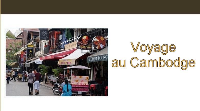 Carnet de voyage. Voyage au Cambodge