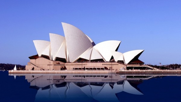 Sydney, Océanie, la terre promise de l'Océan indien. L'opéra