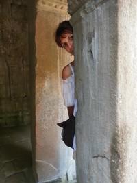 Empire Khmer : magie des temples d'Angkor au Cambodge. Valérie