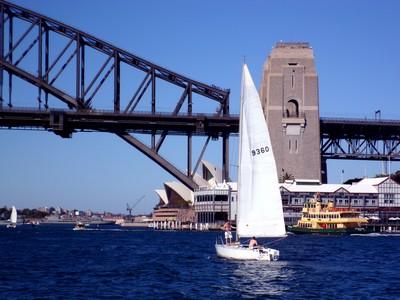 Sydney, Océanie, la terre promise de l'Océan indien. Voilier
