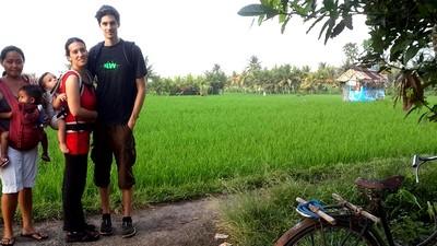 De la Californie à Bali : un couple marseillais globe trotter. Gaelle Vincent Koming