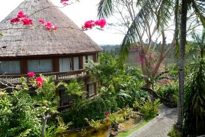 Personnalité, destiné : comment trouver son Archétype. Hôtel dans la jungle de Bali ouest
