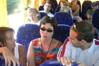 Torture et barbarie à Pampelune : corrida basta! Dans le bus