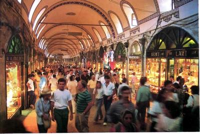 Monastir, Istambul, Pampelune, l'Atlas, Bonifacio, la Suède. Le Grand bazard d'Istambul