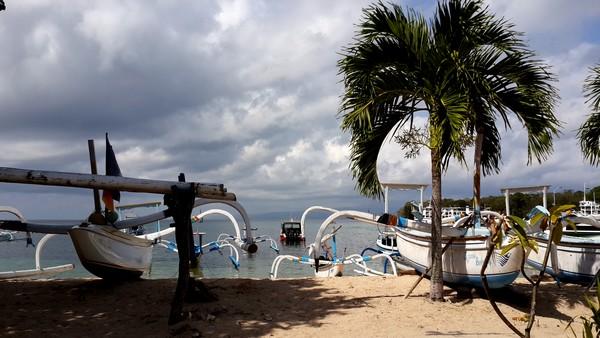 Bali plage : l'est, Padangbai, Candidasa, Amed, Tulamben. Padangbai