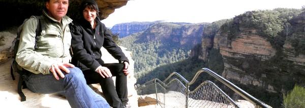 Découverte de l'Australie : quoi faire à Sydney. Panoramique Blue Moutain