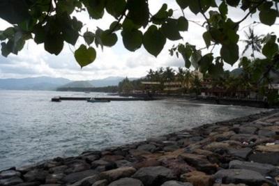 Bali plage : l'est, Padangbai, Candidasa, Amed, Tulamben. Region de Candidasa