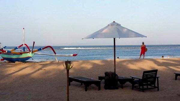 Bali plage : le sud, Kuta, Seminyak, Tanah Lot, Sanur. Sanur Beach