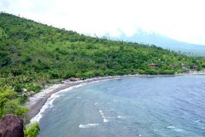 Bali plage : l'est, Padangbai, Candidasa, Amed, Tulamben. Tulamben