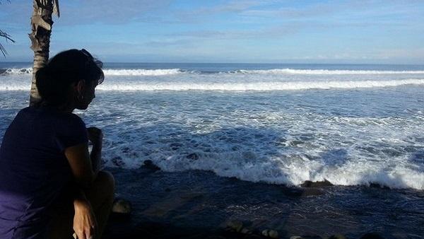 Bali plage : l'ouest, Negara, Medewi, Gilimanuk. Valérie