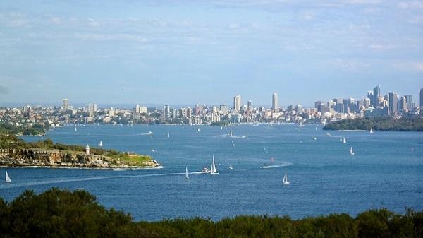 Découverte de l'Australie : quoi faire à Sydney. Manly vue panoramique