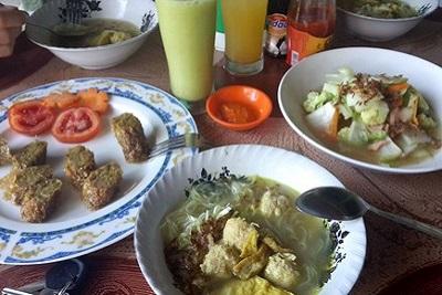 Bons plans à Bali : le warung, brasserie façon asiatique. Warung vegan