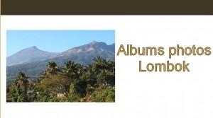 Albums photos Lombok