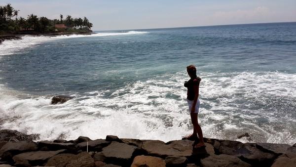 Amed, un coin de paradis sur l'île des Dieux Valérie