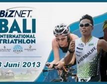 Triathlon sprint, compétition du calendrier 2013 à Bali Indonésie