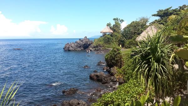 Amed, un coin de paradis sur l'île des Dieux La côte Tulamben