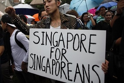 opposition singapour