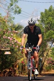 Triathlon sprint, compétition du calendrier 2013 à Bali Indonésie Cyclisme