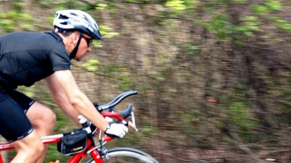 Triathlon sprint, compétition du calendrier 2013 à Bali Indonésie Vélo