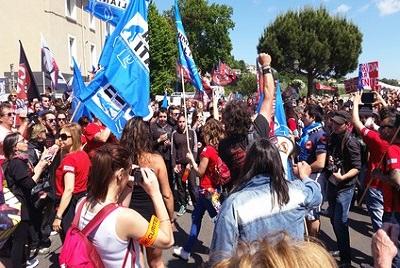 Alès, la gueule de bois pour la corrida de trop Manifestants