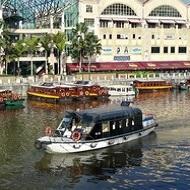 Galerie Singapour. Clarke Quay area