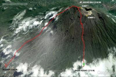 Bali, paradis du trekking au pays des volcans Agung