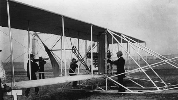 Bon plan pour vaincre la peur de voyager en avion. Orville Wright