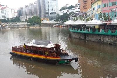 Singapour : Clarke Quay, Fort Canning, Chinatown. Croisière