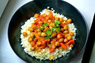 10 recettes de pois chiche sucré-salé. Le couscous