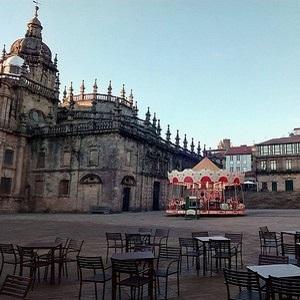 Bons plans vegans en Amérique du sud à Santiago du Chili. Cathedrale de Santiago