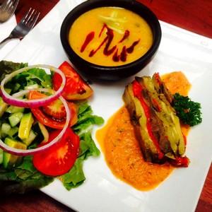 Bons plans vegans en Amérique du sud à Santiago du Chili. El Huerto