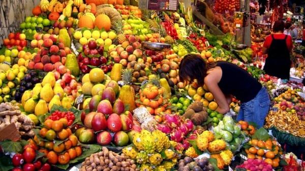 Omero Marongiu Perria, islam et végétarisme Fruits et légumes