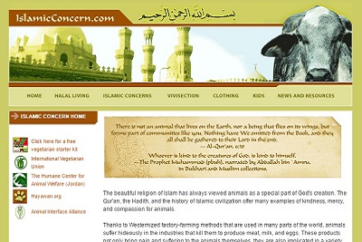 Omero Marongiu Perria, islam et végétarisme islamic concern