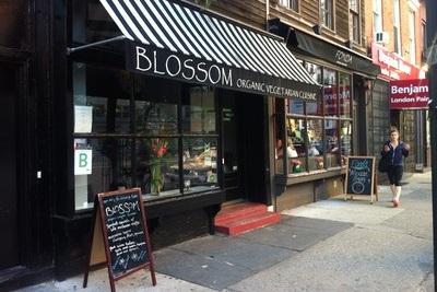 New York City, l'Amérique en mode vegan. Café Blossom