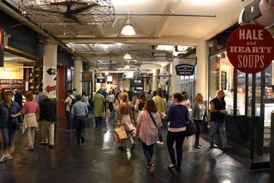 New York City, l'Amérique en mode vegan. Chelsea Market