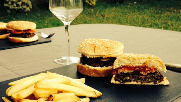 Recette de burger vegan made in USA par Chloe Coscarelli. Dégustation