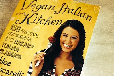 Recette de burger vegan made in USA par Chloe Coscarelli. Book kitchen