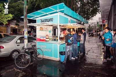 Amérique du sud : végétarisme et restaurants à Mexico Por siempre vegana