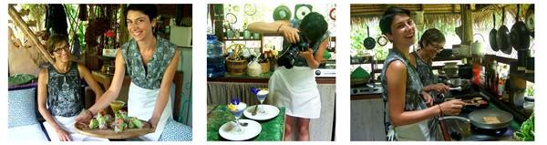 En Thaïlande Christine nous présente Chiang Mai petit paradis végétarien. Isara garden