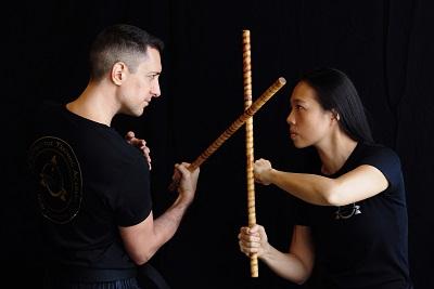 Echanges avec Fred Evrard fondateur de l'Art Martial Kali Majapahit. Action!