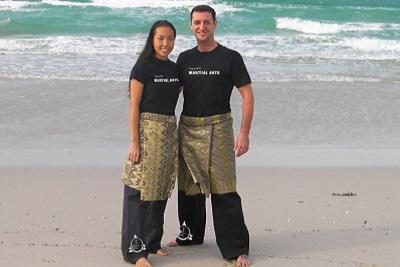 Echanges avec Fred Evrard fondateur de l'Art Martial Kali Majapahit. Lila et Fred