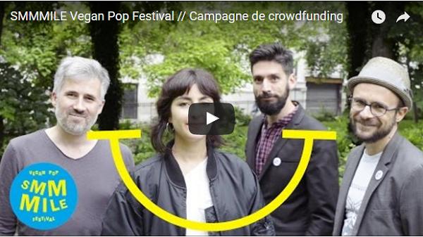 SMMMILE Vegan Pop Festival: bon son, bon sens, bonne cuisine ! Video Smmmile