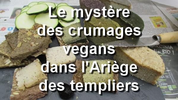 Le mystère des crumages vegans dans l'Ariège des templiers. Instagram